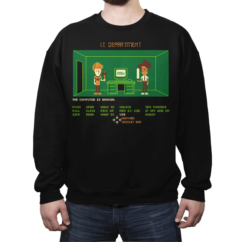Maniac IT Department - Crew Neck - Crew Neck - RIPT Apparel