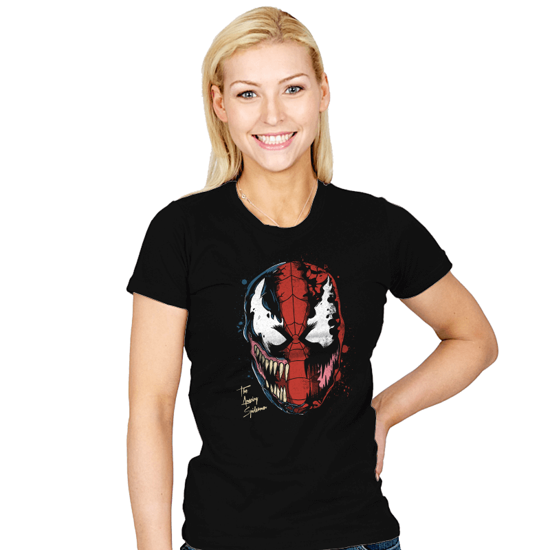 Daft Spider - Womens - T-Shirts - RIPT Apparel