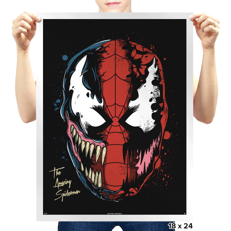 Daft Spider - Prints - Posters - RIPT Apparel