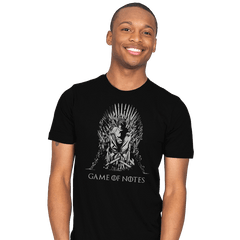 Game of Notes - Mens - T-Shirts - RIPT Apparel