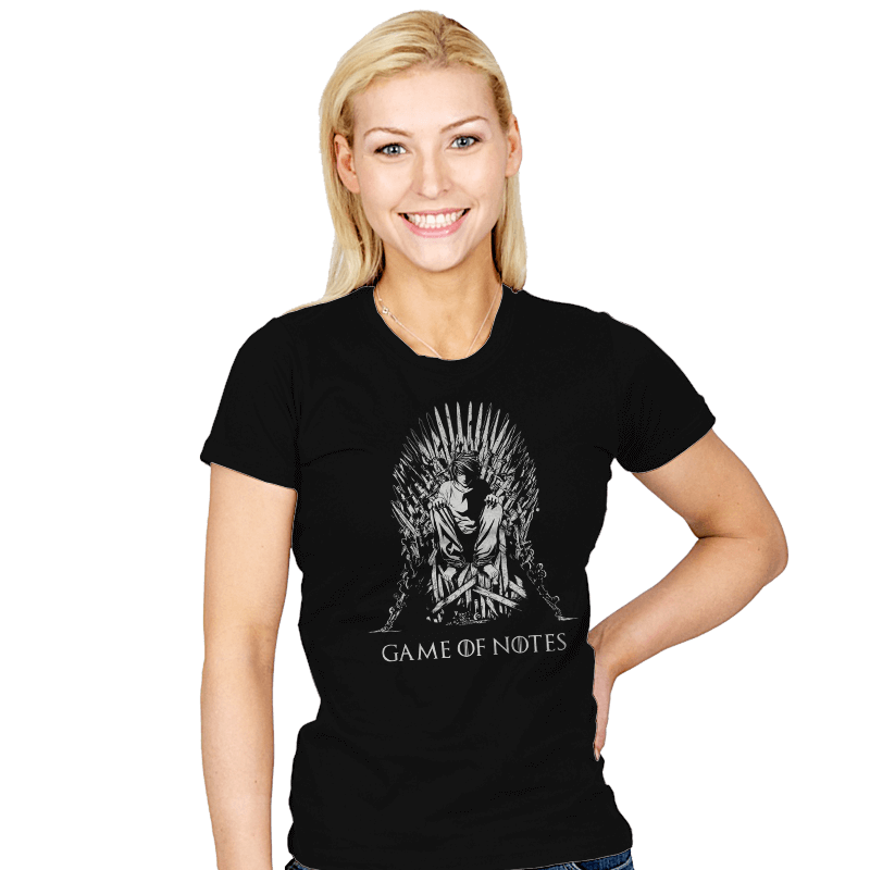 Game of Notes - Womens - T-Shirts - RIPT Apparel