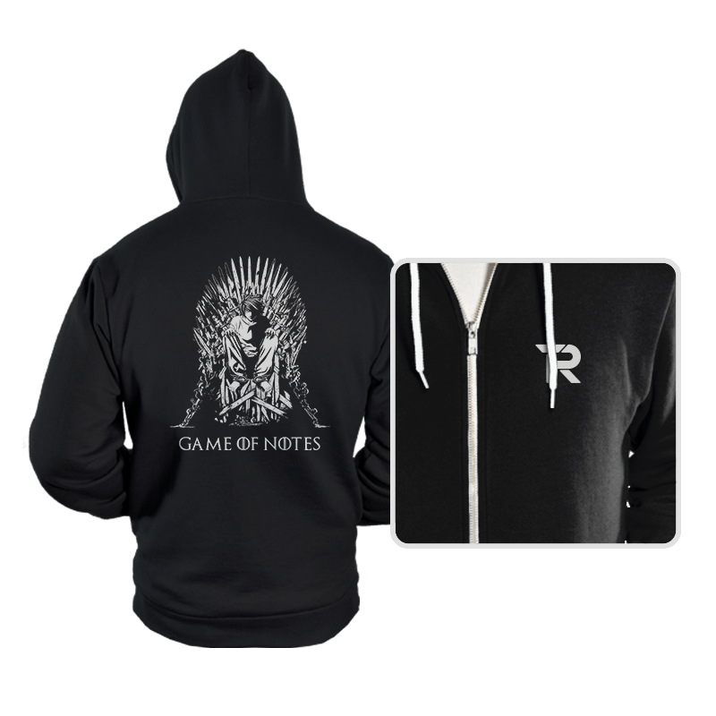 Game of Notes - Hoodies - Hoodies - RIPT Apparel