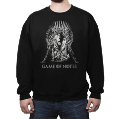 Game of Notes - Crew Neck - Crew Neck - RIPT Apparel