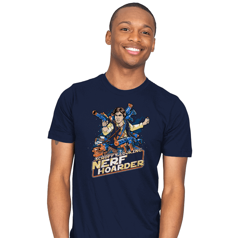 Scruffy Looking Nerf Hoarder - Mens - T-Shirts - RIPT Apparel