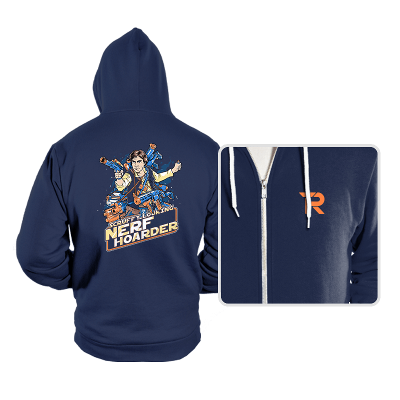 Scruffy Looking Nerf Hoarder - Hoodies - Hoodies - RIPT Apparel