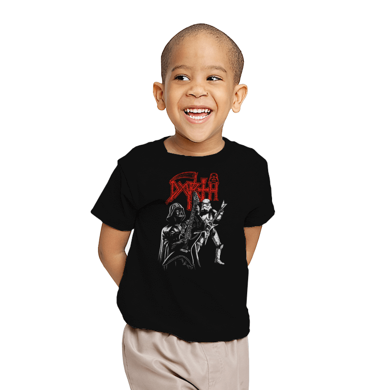 Darth Metal - Youth - T-Shirts - RIPT Apparel