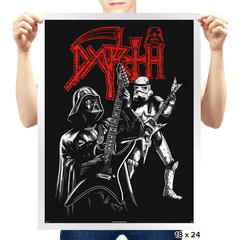 Darth Metal - Prints - Posters - RIPT Apparel