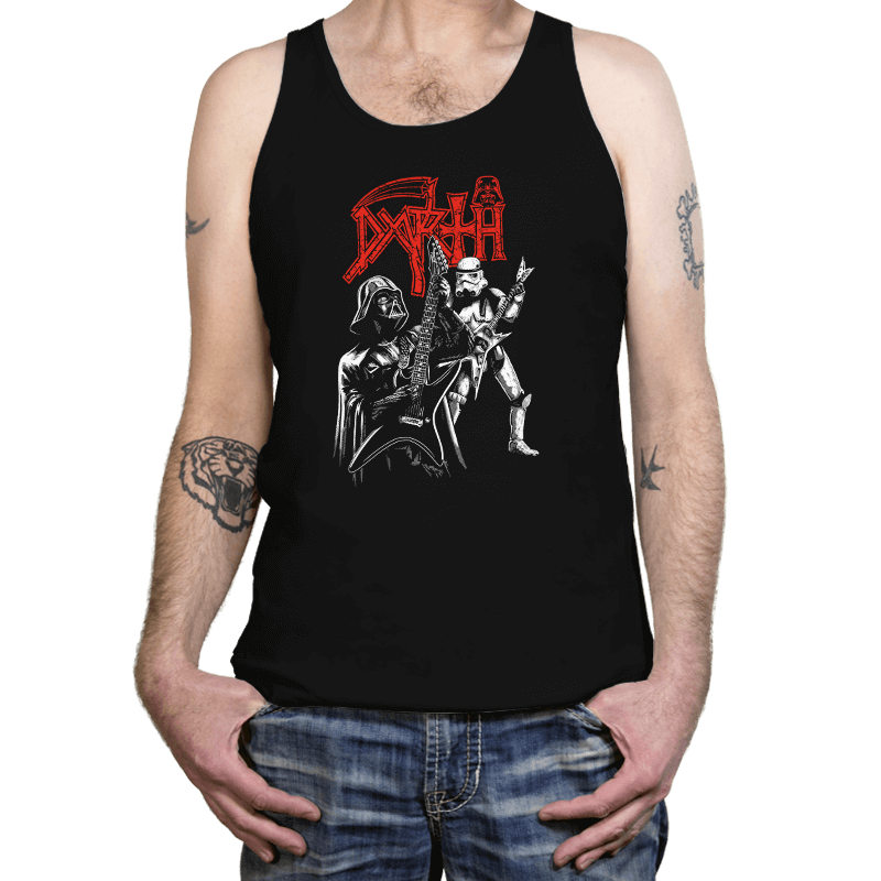 Darth Metal - Tanktop - Tanktop - RIPT Apparel