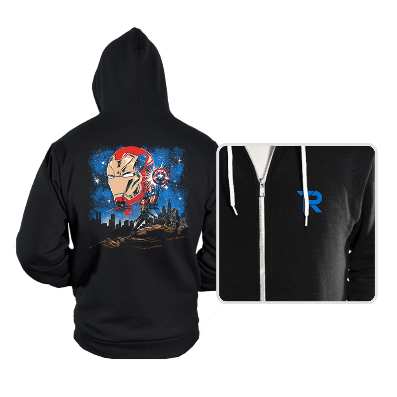 Civil Wars - Hoodies - Hoodies - RIPT Apparel