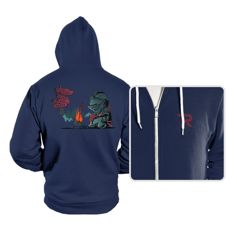 Death Everywhere - Hoodies - Hoodies - RIPT Apparel