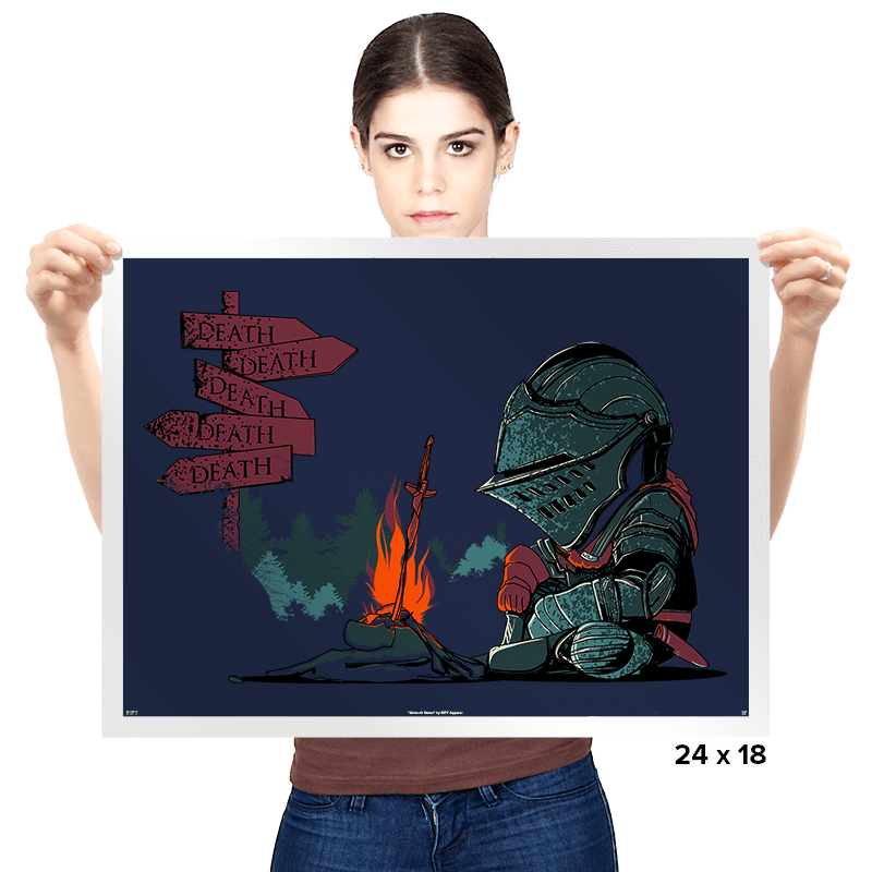 Death Everywhere - Prints - Posters - RIPT Apparel