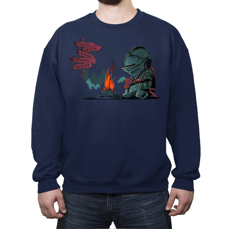 Death Everywhere - Crew Neck - Crew Neck - RIPT Apparel
