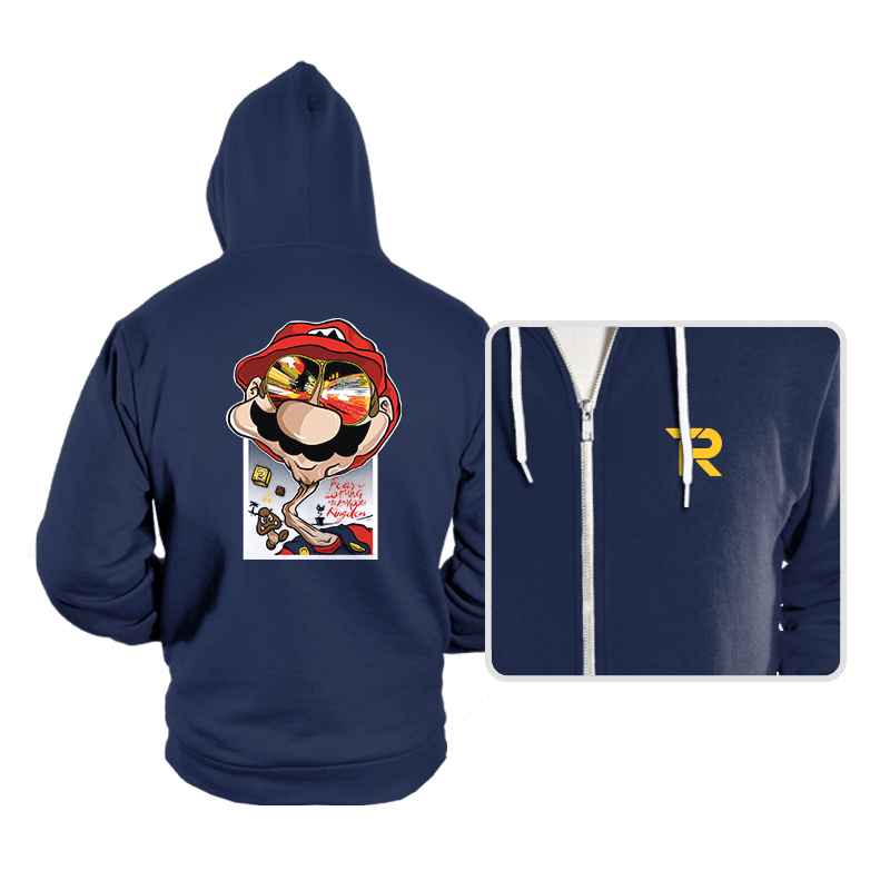 Fear and Loathing in Mushroom Kingdom - Hoodies - Hoodies - RIPT Apparel