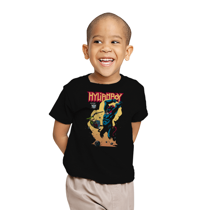 Hylianboy - Youth - T-Shirts - RIPT Apparel