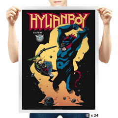 Hylianboy - Prints - Posters - RIPT Apparel