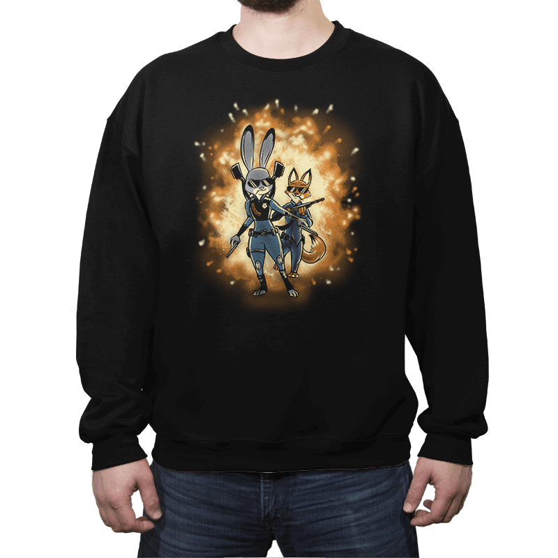 Hot Fuzzy - Crew Neck - Crew Neck - RIPT Apparel
