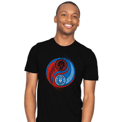 Yin-Yang of War - Mens - T-Shirts - RIPT Apparel