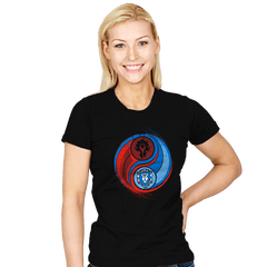 Yin-Yang of War - Womens - T-Shirts - RIPT Apparel