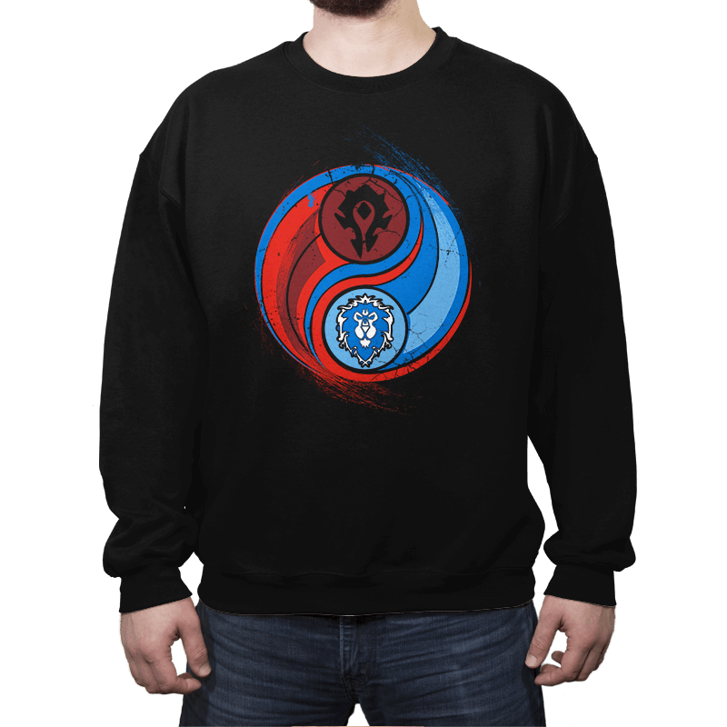 Yin-Yang of War - Crew Neck - Crew Neck - RIPT Apparel