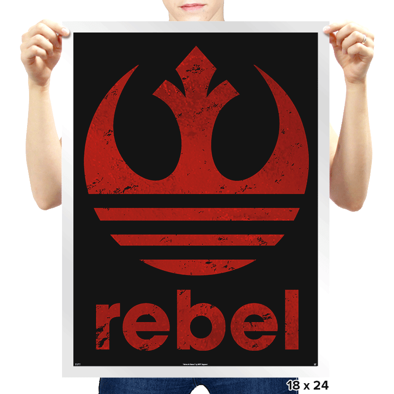 Rebel Classic - Prints - Posters - RIPT Apparel