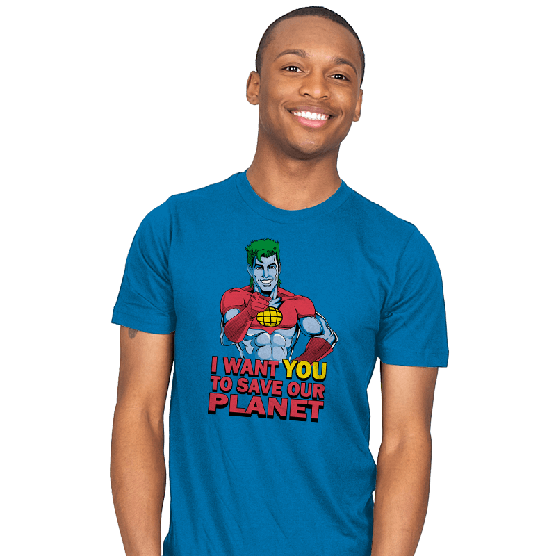 Planeteer Call - Mens - T-Shirts - RIPT Apparel