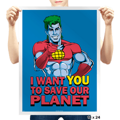 Planeteer Call - Prints - Posters - RIPT Apparel