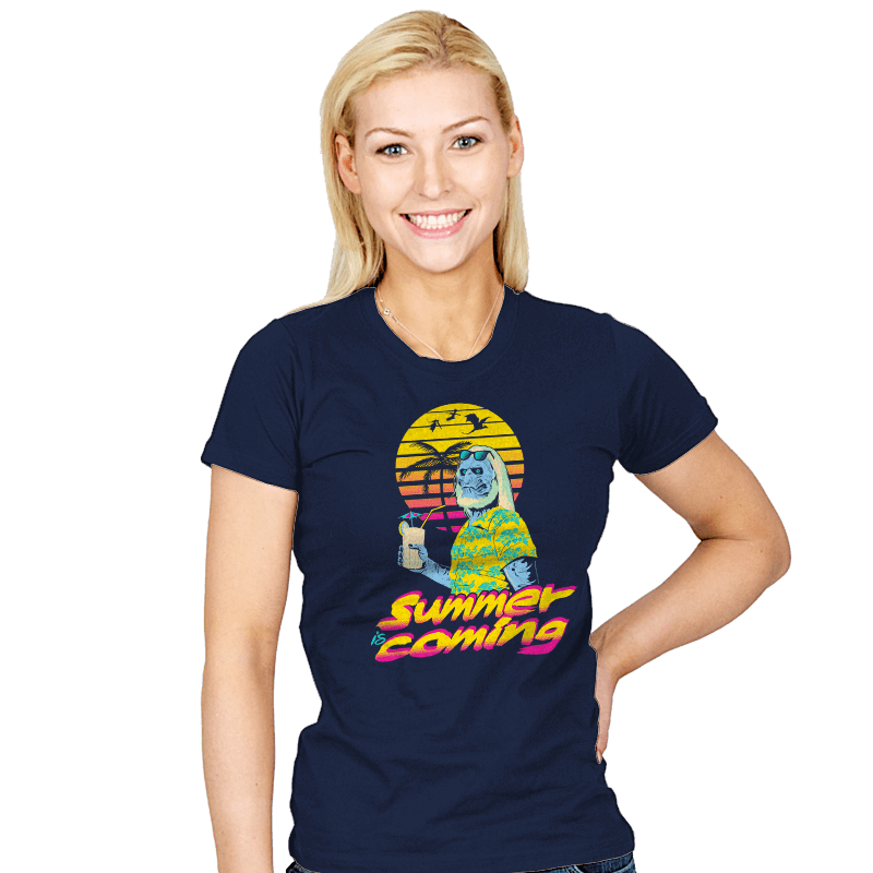Summer is Coming - Womens - T-Shirts - RIPT Apparel