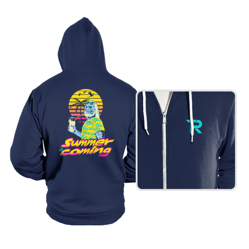 Summer is Coming - Hoodies - Hoodies - RIPT Apparel