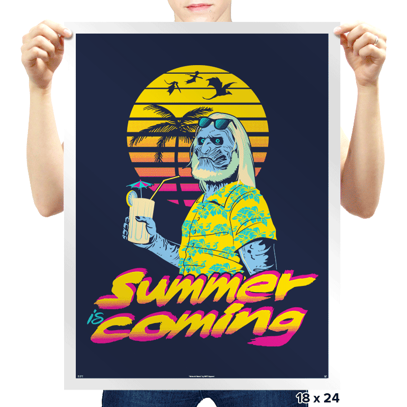 Summer is Coming - Prints - Posters - RIPT Apparel