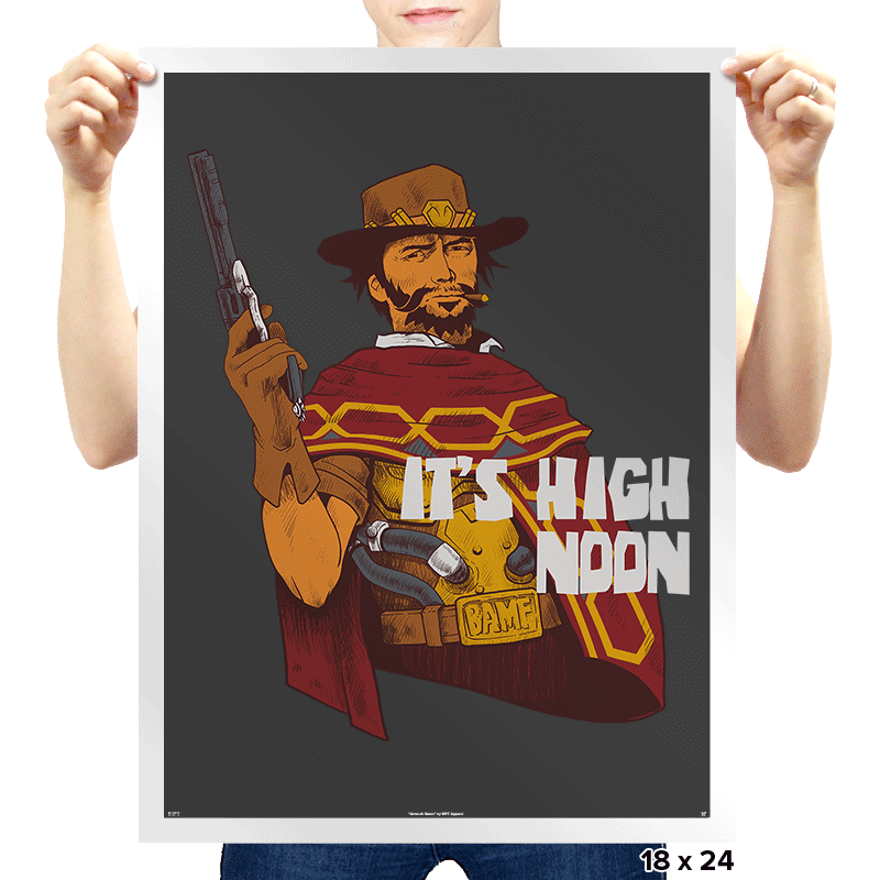 Clint McCree - Prints - Posters - RIPT Apparel