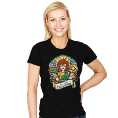 Our Lady of Sarcasm - Womens - T-Shirts - RIPT Apparel