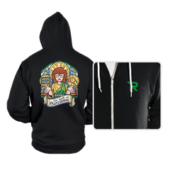 Our Lady of Sarcasm - Hoodies - Hoodies - RIPT Apparel