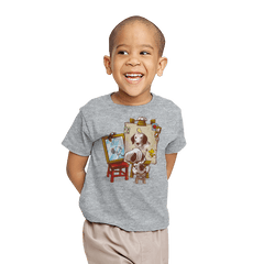 Triple Beagle Portrait - Youth - T-Shirts - RIPT Apparel