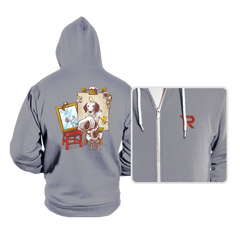 Triple Beagle Portrait - Hoodies - Hoodies - RIPT Apparel