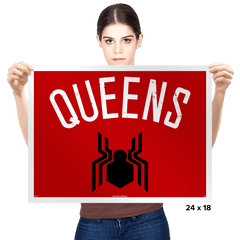 Queens - Prints - Posters - RIPT Apparel