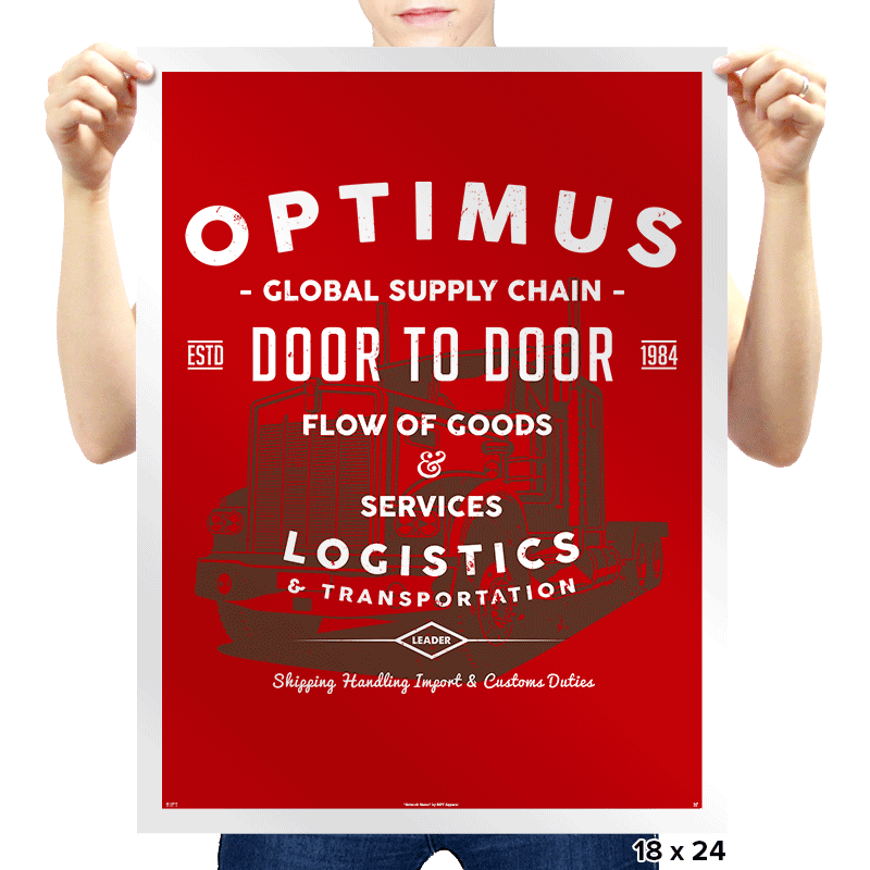 Optimus Trans - Prints - Posters - RIPT Apparel
