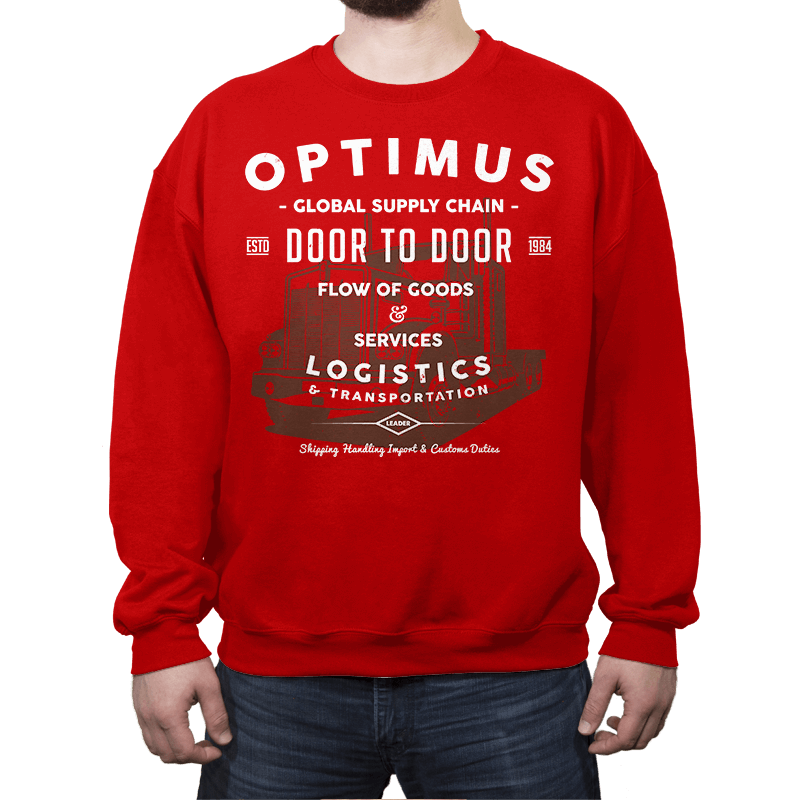 Optimus Trans - Crew Neck - Crew Neck - RIPT Apparel