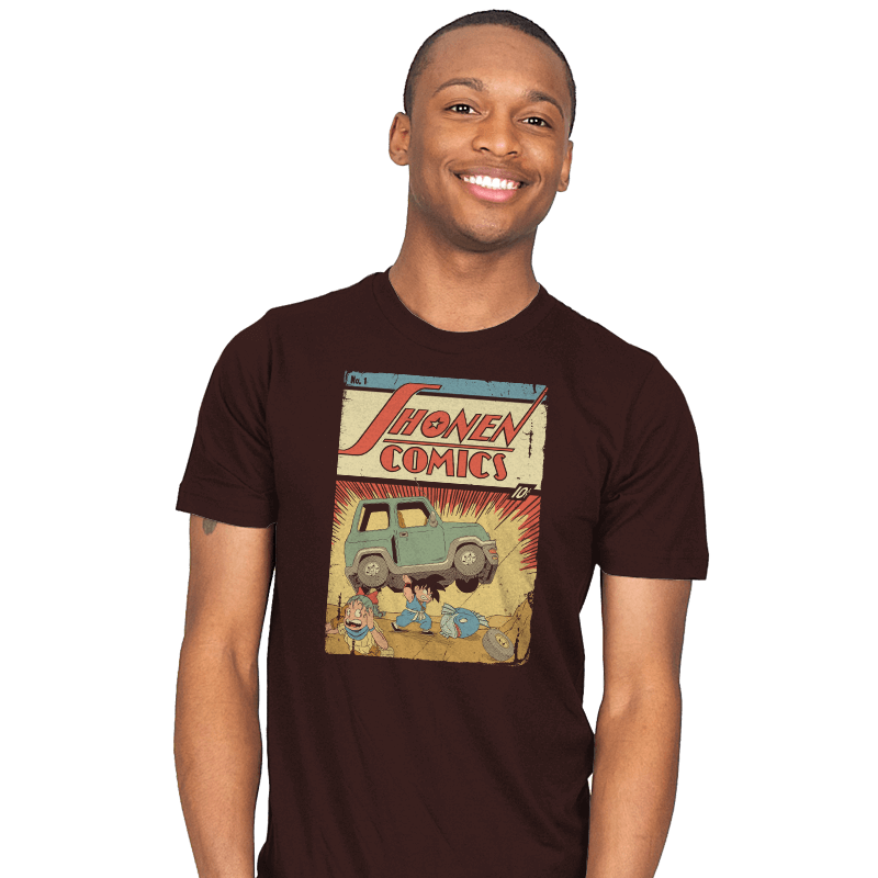 Shonen Comics - Mens - T-Shirts - RIPT Apparel