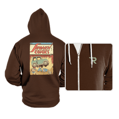 Shonen Comics - Hoodies - Hoodies - RIPT Apparel