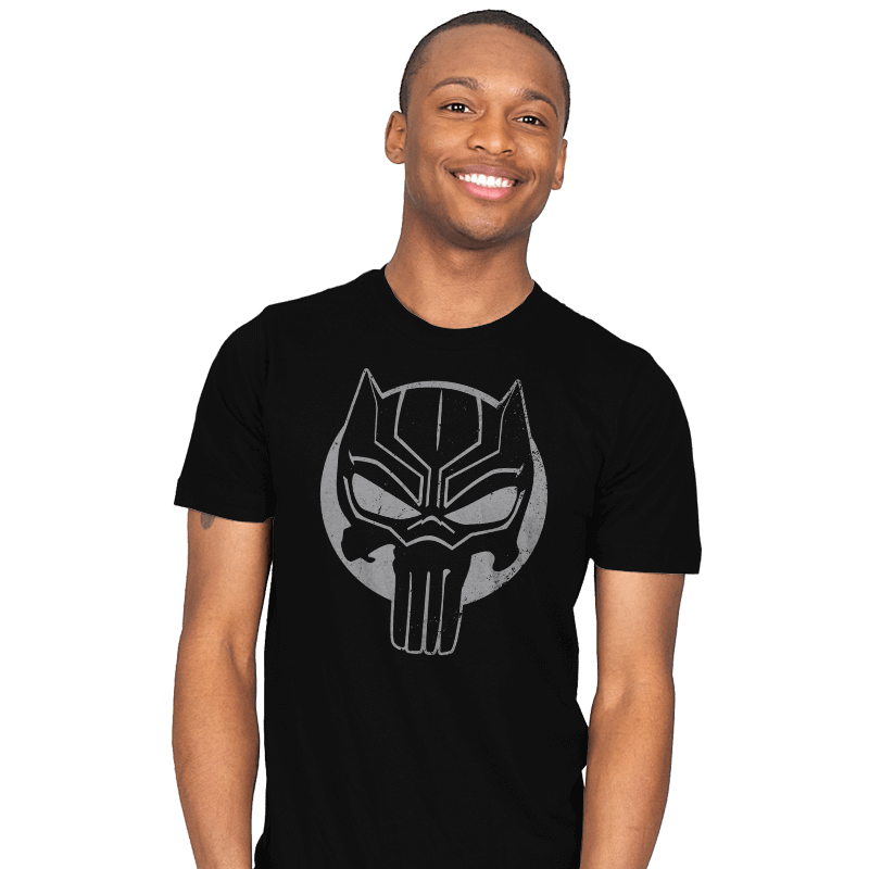 The Black Punisher - Mens - T-Shirts - RIPT Apparel