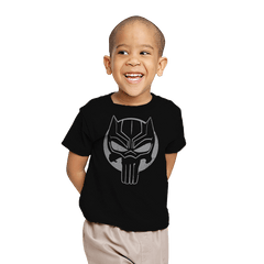 The Black Punisher - Youth - T-Shirts - RIPT Apparel