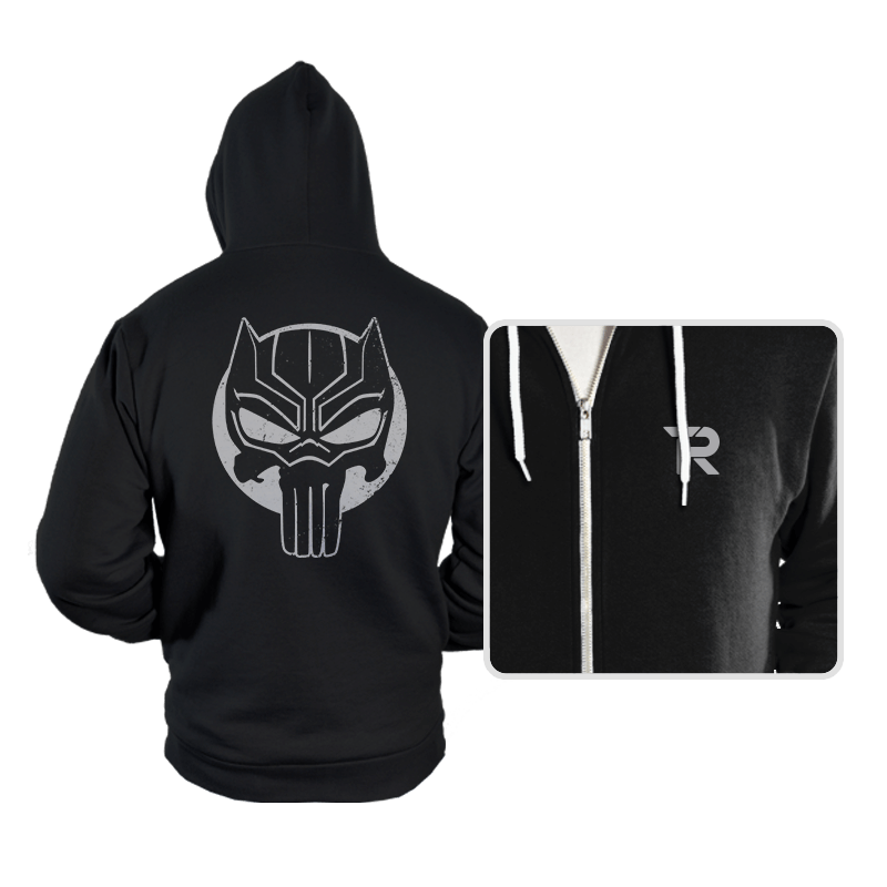 The Black Punisher - Hoodies - Hoodies - RIPT Apparel