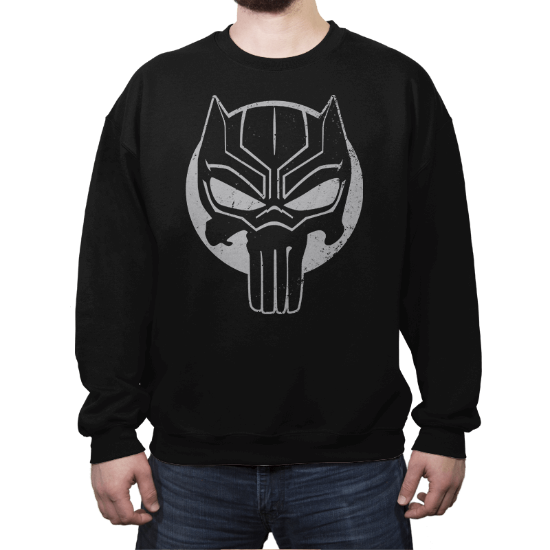 The Black Punisher - Crew Neck - Crew Neck - RIPT Apparel