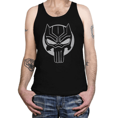 The Black Punisher - Tanktop - Tanktop - RIPT Apparel