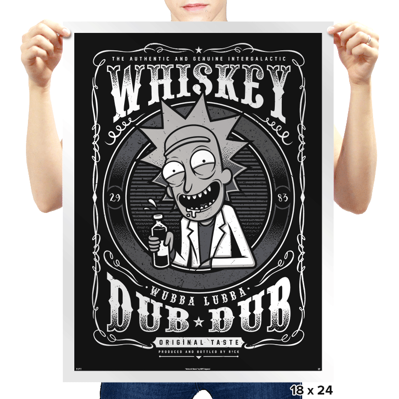 Whiskey Dub Dub - Prints - Posters - RIPT Apparel