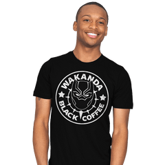 Wakanda Black Coffee - Mens - T-Shirts - RIPT Apparel