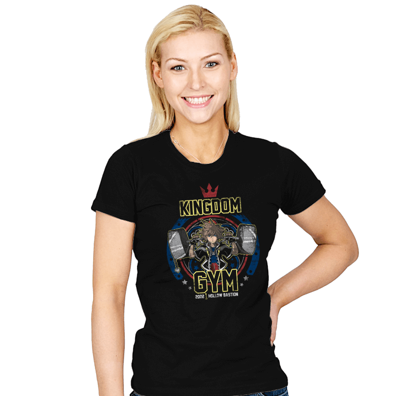 Kingdom Gym - Womens - T-Shirts - RIPT Apparel