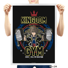 Kingdom Gym - Prints - Posters - RIPT Apparel