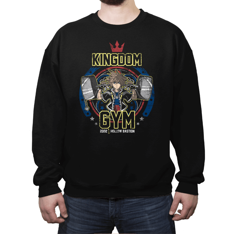 Kingdom Gym - Crew Neck - Crew Neck - RIPT Apparel