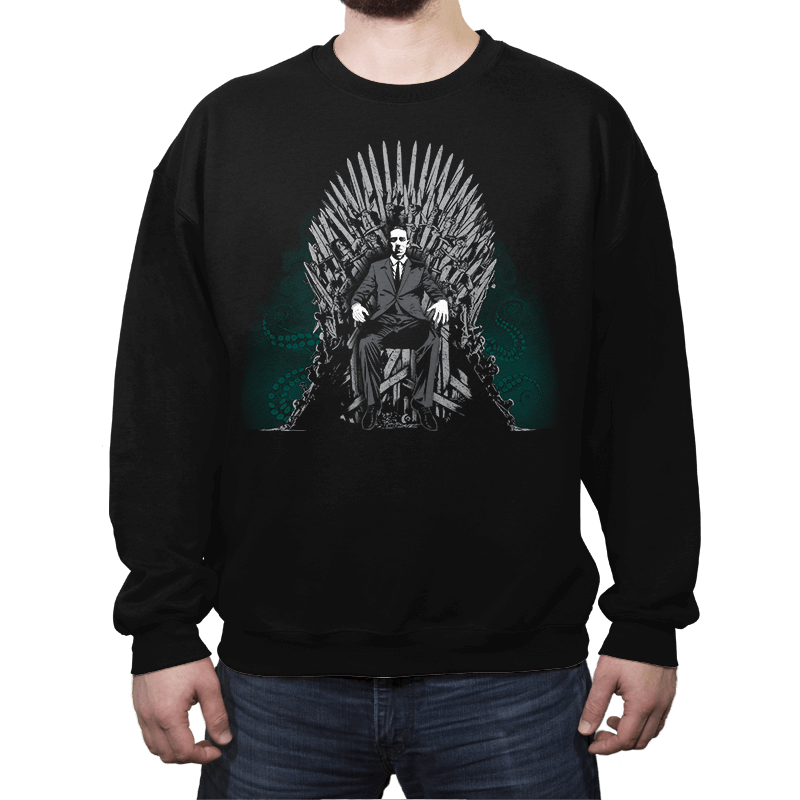 Cthulhu is Coming - Crew Neck - Crew Neck - RIPT Apparel